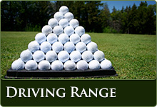 Find out about our Driving Range