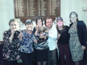 Ladies Team, league winners 2013